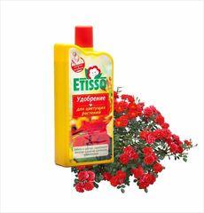 Удобрение жидкое для любых цветущих комнатных и балконных растений, 1л. Etisso
