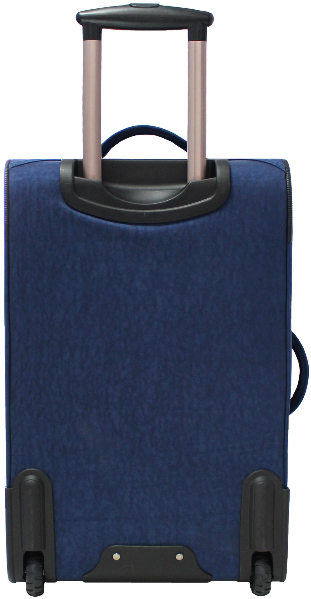 Чемодан Bagland Леон средний 51 л. 225 синій/олені (003767024)