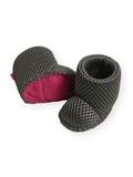 Сапоги из мембраны - Серый/розовый. Одежда для кукол, пупсов и мягких игрушек.