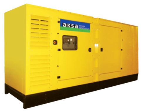 Дизельный генератор Aksa AC-700 в кожухе