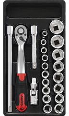 Набор инструмента в ложементе AmPro (22 предметов) T45425
