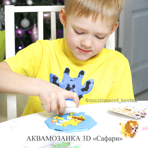 АКВАМОЗАИКА 3D «Сафари»