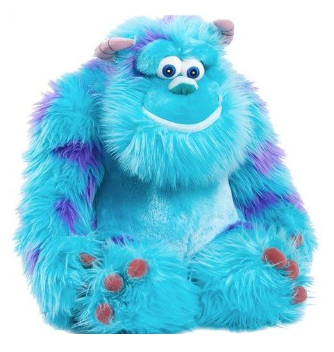 Университет монстров большая мягкая игрушка Салли
