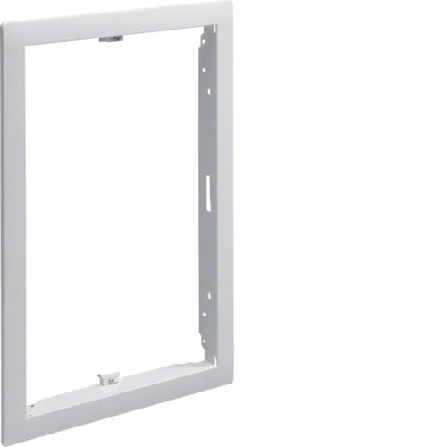 Наружная рамка без дверцы щитка для сплошных стен 9мм,Volta, 2-рядного RAL9010