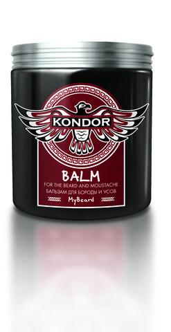 KONDOR Бальзам для бороды и усов 250мл