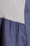 Платье для беременных и кормящих 09798 темно-голубой