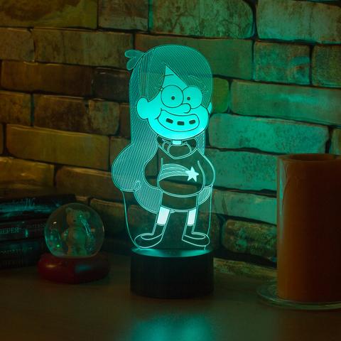 3D ночник Мэйбл