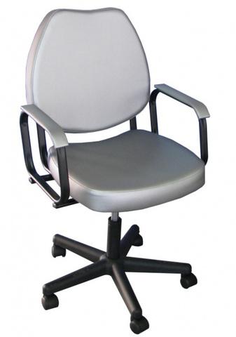 Кресло Соло пневматика , пятилучье черное пластик