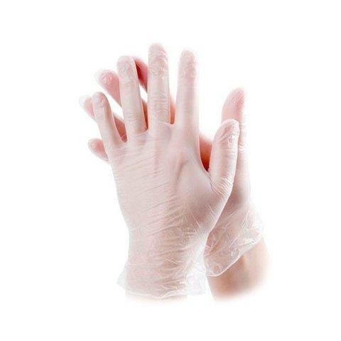 Перчатки косметические виниловые ViniMax р. L (100 штук - 50 пар)