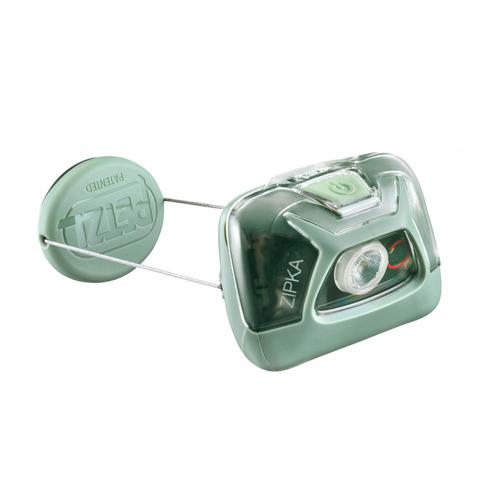 Фонарь светодиодный налобный Petzl Zipka зеленый, 300 лм