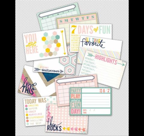 Набор карточек Themed cards