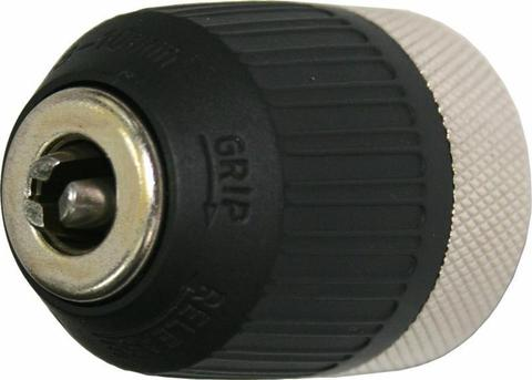 Патрон быстрозажимной ПРАКТИКА 10 мм, M12 x 1.25 (1шт.) коробка (030-061)