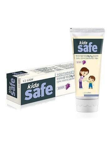 Детская зубная паста Kids Safe (виноград)