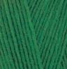 Пряжа Alize Lanagold 800 118  (Зеленая трава)