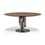Обеденный стол skyline wood round, Италия