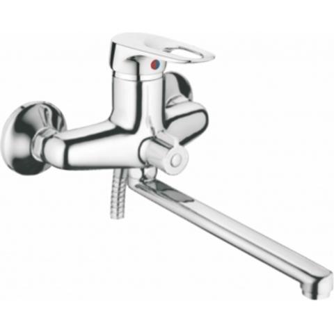 Viko 6605 смеситель для ванны ф40 (встроенный переключатель) L-30см