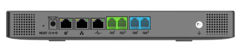 Grandstream UCM6302 - IP ATC. До 1000 абонентов / 150 одновременных вызовов, до 150 участников в конф., до 20 FullHD участников в видеоконф., RemoteConnect, 2хFXS, 2xFXO, 1xWAN, 1xLAN, HA
