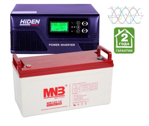 Комплект ИБП HPS20-1012-АКБ MM120 (12в, 1000Вт)