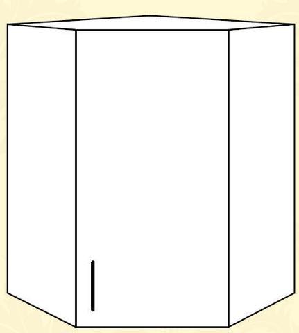 Империя ПУ 550*500 Шкаф верхний угловой