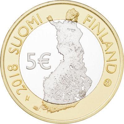 5 евро Финляндия