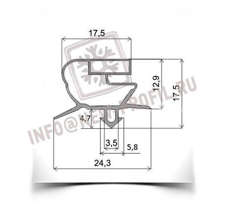 Уплотнитель для холодильного шкафа Sagi FD (распашная дверь) 635*450 мм(018)