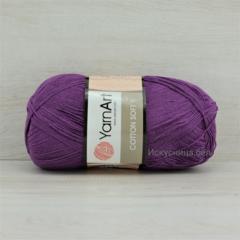 Пряжа Cotton Soft (Коттон софт) Сиреневый. Артикул: 50