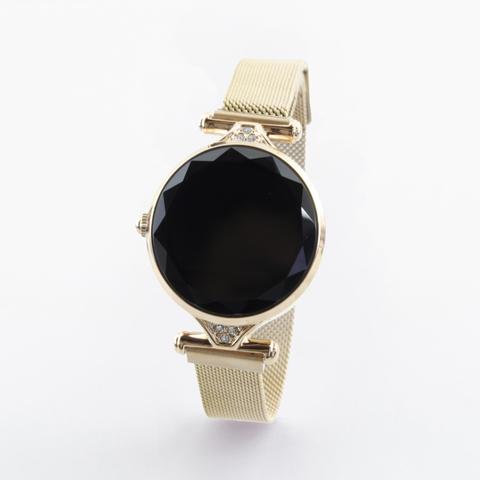 Женские часы здоровья с измерением давления и автоматическим мониторингом  пульса Health Watch WM1 (золотой)