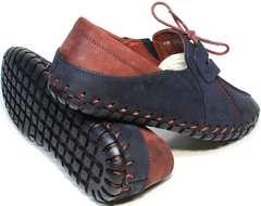 Стильные туфли мокасины летние мужские Luciano Bellini 23406-00 LNBN.