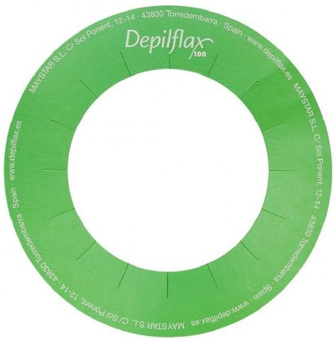 Кольцо защитное бумажное для баночного подогревателя Depilflax100 уп. - 5 шт