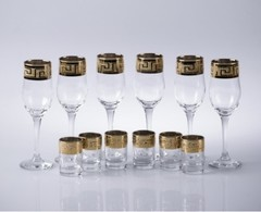 Мини-бар «Кристалл» под шампанское и водку, 12 предметов, фото 3