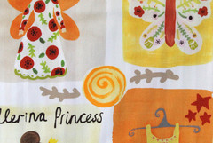Терможаккард Twister Ballerina (Твистер Балерина) A 07 naranja