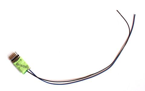 Декодер 6-pin, разъем на декодере (LaisDCC)