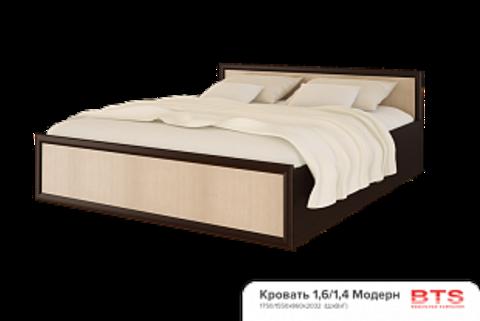 Кровать с настилом, без матраса «Модерн»