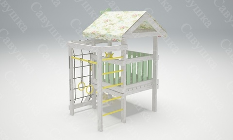 Детский деревянный игровой комплекс Бэби-12