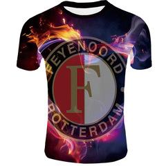 Футболка 3D принт, ФК Фейеноорд  (3Д Feyenoord Rotterdam) 09