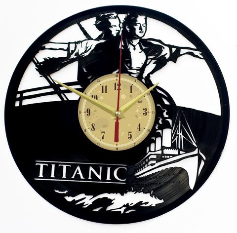 Титаник Часы из Пластинки