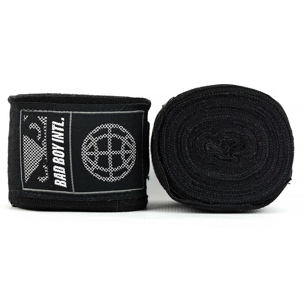 Капы и бинты Бинты Bad Boy Combat Premium Hand Wraps Black 5m 1.jpg