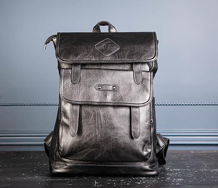 BAG531-1 Большой рюкзак из искусственной кожи фото 03