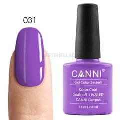Canni, Гель-лак № 031, 7,3 мл