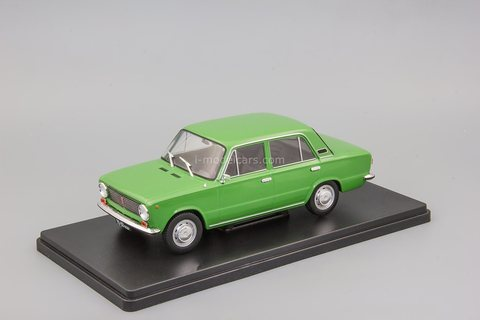 VAZ-21011 Zhiguli Lada green 1:24 Legendary Soviet cars Hachette #65