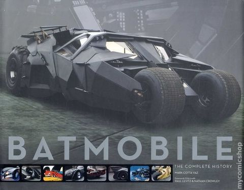 Batmobile. The complete history