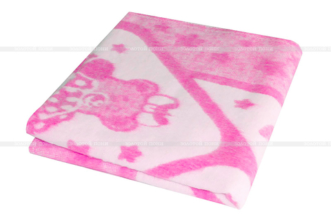 Одеяло байковое жаккард (118х100) ZP-DKOF-4ЕТОЖр
