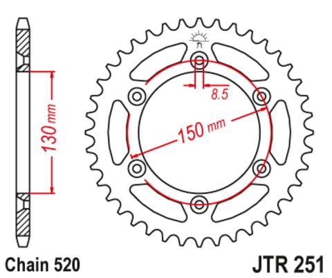 JTR251