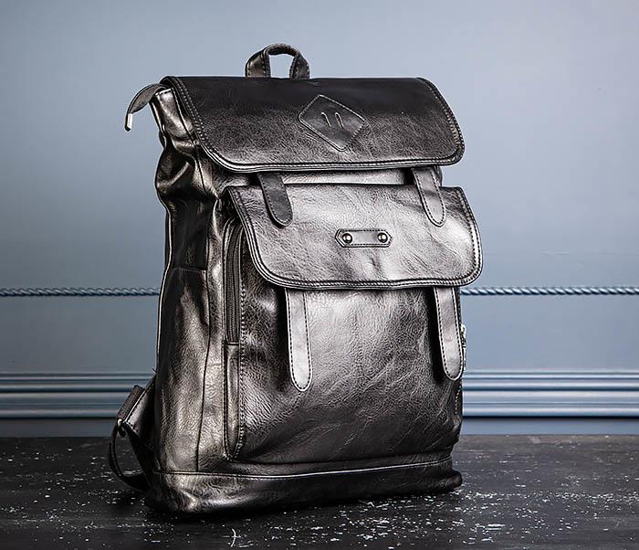 BAG531-1 Большой рюкзак из искусственной кожи фото 04