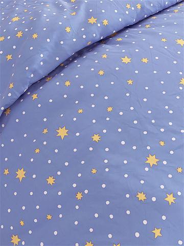 Простынь  -Зимние звезды- 150х215 см 1,5-спальная