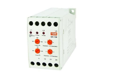 ЕЛ-11М-3х380В (1нр+1нз контакты) TDM