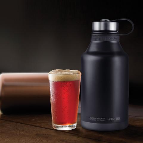 Гроулер-термос для пива Asobu King (1,9 литра), медный