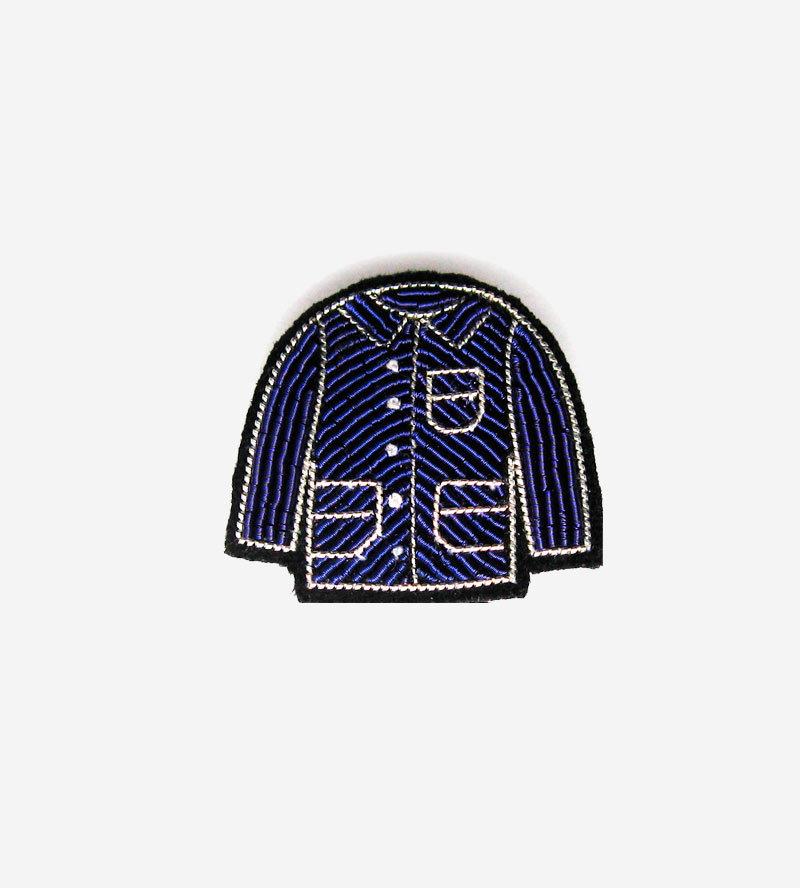 Брошь Blue Coat