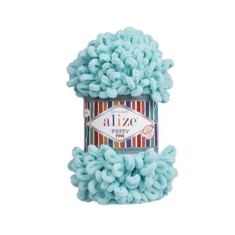 Купить Пряжа Ализе Пуффи Файн Код цвета 263 | Интернет-магазин пряжи «Пряха»