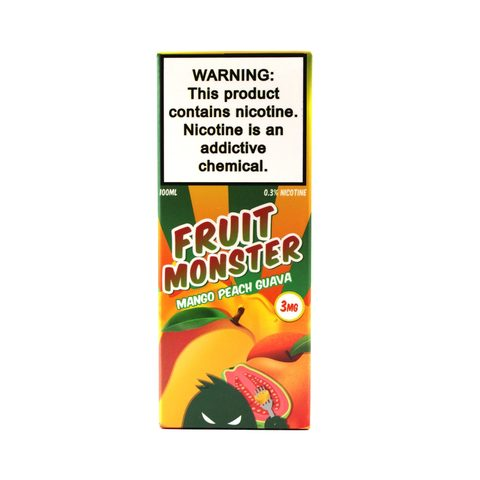 Жидкость FRUIT MONSTER Mango Peach Guava